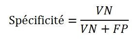 Specif formule